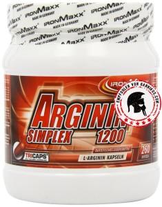 Ironmaxx-Arginin-Simplex-1200- 260-Kapseln