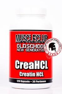 MuscleClub-Creatin-HCL-120 Kapseln