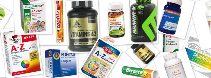 Vitamine-Mineralien-Tabletten
