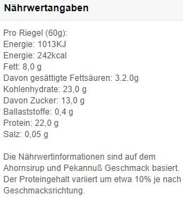 protein-chox-myprotein-naerwerte