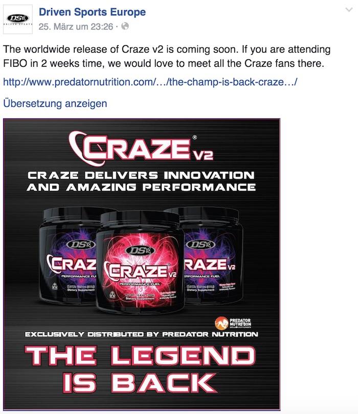 craze-facebook-post