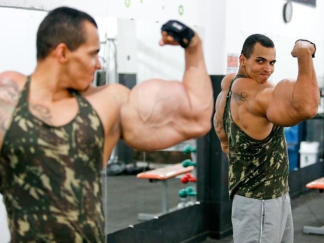 Nach wie vor möchte Romarion Profi-Bodybuilder werden.