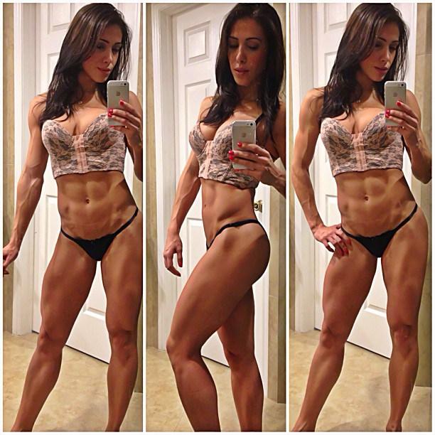 Bella-Falconi-motiviert-Frauen-zum-Bauchmuskeltraining-2