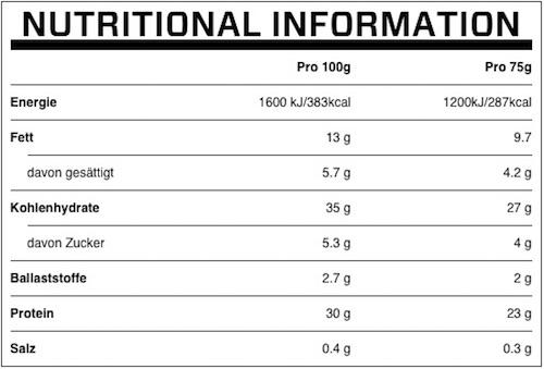 myprotein-protein-brownie-naehrwerte