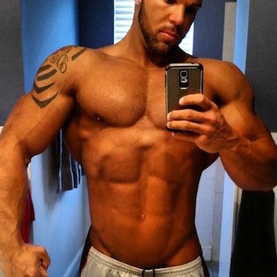 Bostin Loyd ist dafür bekannt Steroide und Hormone in sehr hohen Dosierungen zu sich zu nehmen, mit eher unterdurchschnittlicher Genetik.