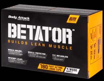 Betator ist das aktuell gehypte Supplement von Body Attack, das nichts anderes als HMB enthält.
