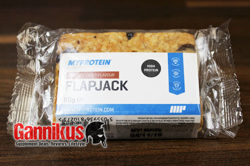 myprotein protein flapjack haferriegel im test. Black Bedroom Furniture Sets. Home Design Ideas