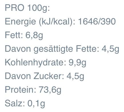 myprotein-protein-smoothie-naehrwerte