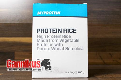 myprotein protein reis im test. Black Bedroom Furniture Sets. Home Design Ideas