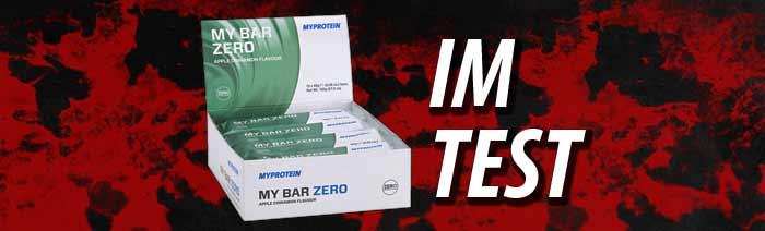 MyProtein My Bar Zero im Test - Gannikus de