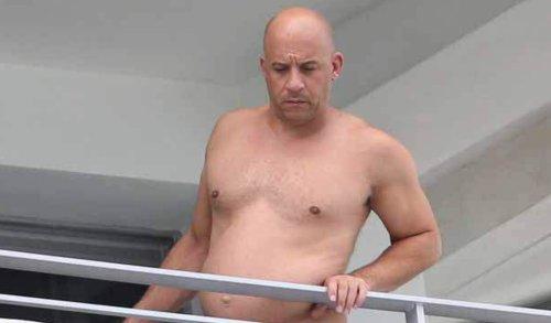 Vin Diesel Bauch