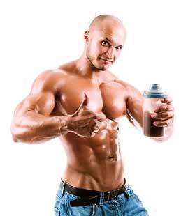 Mit einem Protein Shake jeglicher Art kann man ebenfalls schnell die Proteinzufuhr erhöhen!