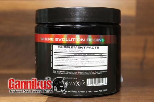 genomyx-pumpaholic-supplement-facts