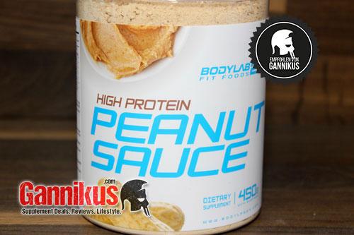 Wir können die Bodylab24 Peanut Sauce jedem empfehlen der Erdnüsse mag.
