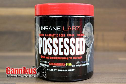 Insane Labz Possessed ist ein klassischer Hardcore Booster.