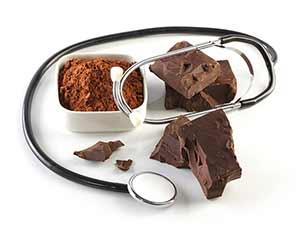 Sie schmeckt nicht nur gut: Dunkle Schokolade wirkt sich aufgrund unter anderem positiv auf Herz und Entzündungen aus.