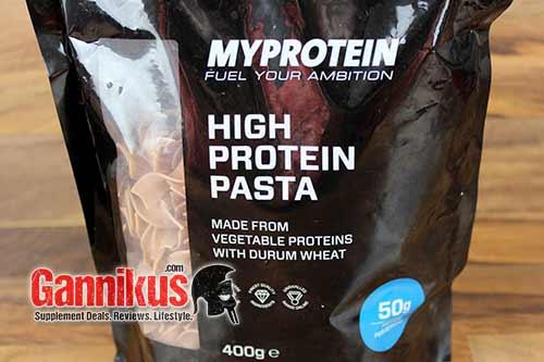 BIs auf den Preis lässt sich an der MyProtein High Protein Pasta nicht viel kritisieren.
