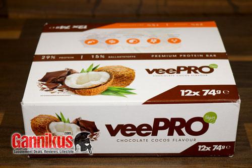ProFuel veePRO Protein Riegel Packung