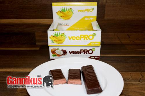 Auch als Nicht-Veganer wird man den ProFuel veePRO Protein Riegel gerne essen. Gerade wenn man sich an die Konsistenz gewöhnt hat.