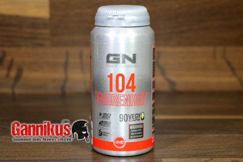 GN Laboratories 104 Fahrenheit Fatburner