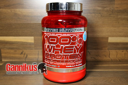 Scitec Nutrition 100% Whey Protein Professional Packung