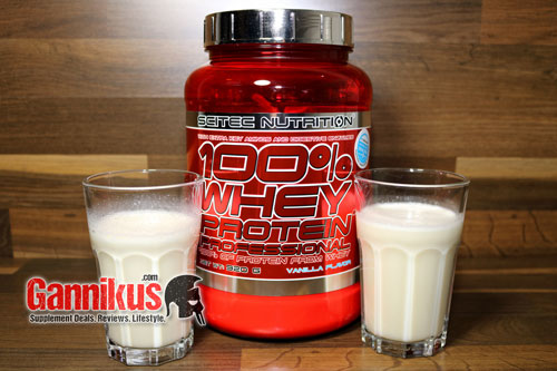 Scitec Nutrition 100% Whey Protein Professional Geschmack