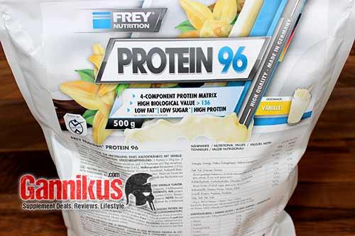 FREY Nutrition Protein 96 Fazit