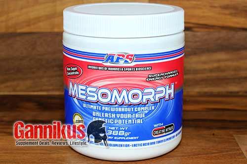 APS Mesomorph Verpackung