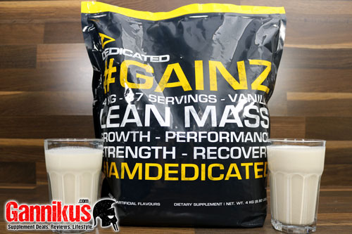Dedicated Nutrition GAINZ Geschmack