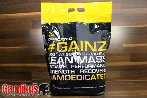 Dedicated Nutrition GAINZ Weight Gainer