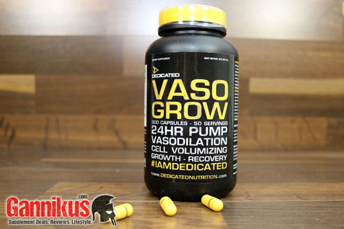 Dedicated Nutrition Vaso Grow Kapseln