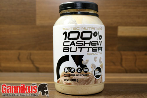 Scitec Nutrition 100% Cashew Butter (smooth) Erfahrung