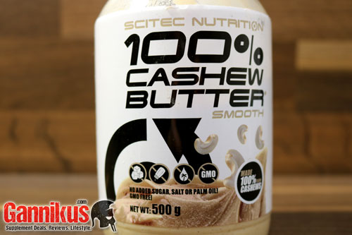 Scitec Nutrition 100% Cashew Butter (smooth) Ernährung