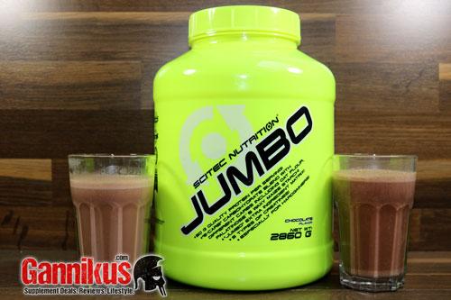 Scitec Nutrition Jumbo Geschmack