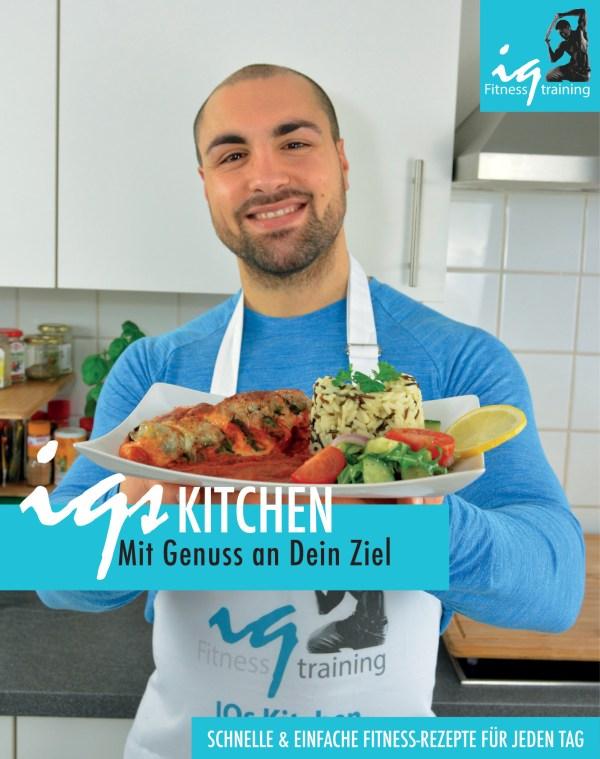 IQs Kitchen Kochbuch Deckblatt