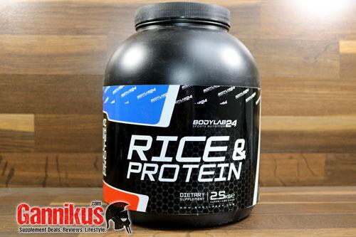 Bodylab24 Rice & Protein Weight Gainer