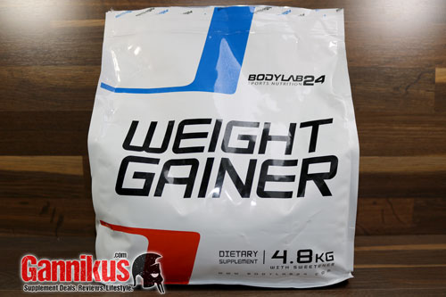 Bodylab24 Weight Gainer Muskelaufbau