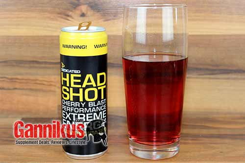 Dedicated Headshot Energy Drink Geschmack
