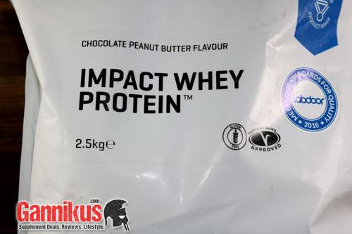 MyProtein Impact Whey Protein Eiweiß Pulver