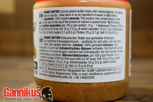 Olimp Premium Peanut Butte Erdnuss