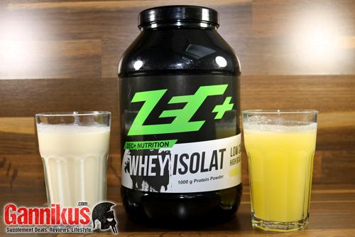 ZEC+ Whey Isolat Geschmack