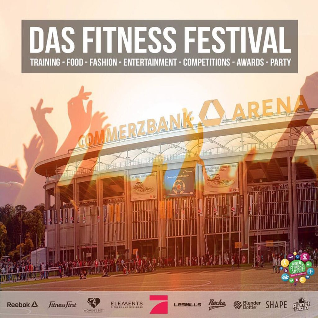 World Fitness Day 2017 - das Fitness Festival in Frankfurt
