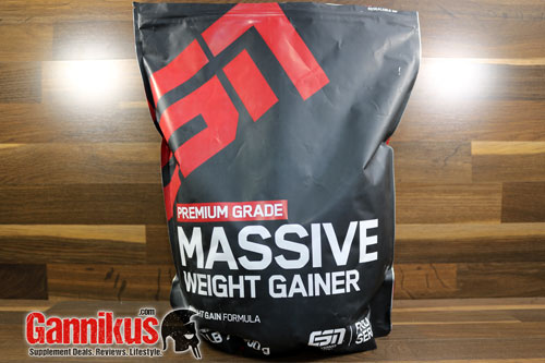 ESN Massive Weight Gainer Erfahrung
