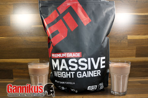 ESN Massive Weight Gainer Geschmack