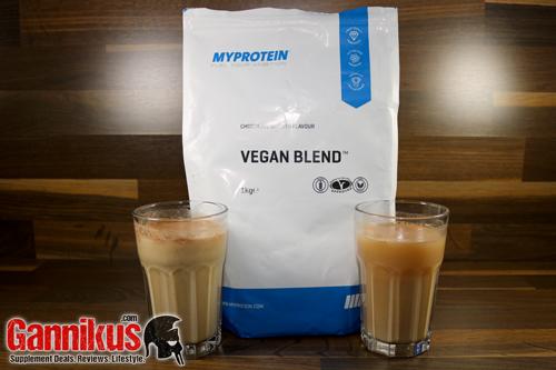MyProtein Vegan Blend pflanzliches Protein-Pulver