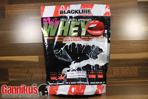 Uncle Bob's BlackLine 2.0 Milfy Whey Eiweiß
