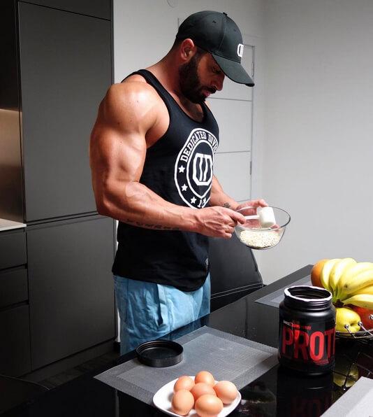 Einsatz von Whey im Bodybuilding