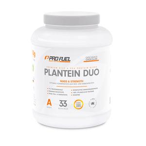 Kombination aus Reisprotein und Erbsenprotein