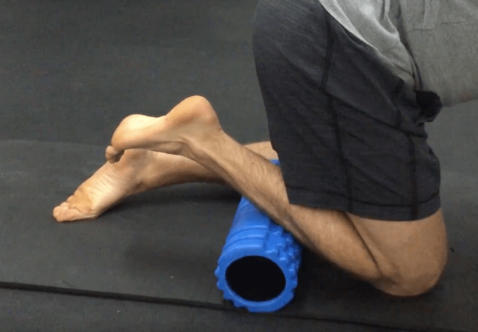 Foam Roller Übungen Waden 5