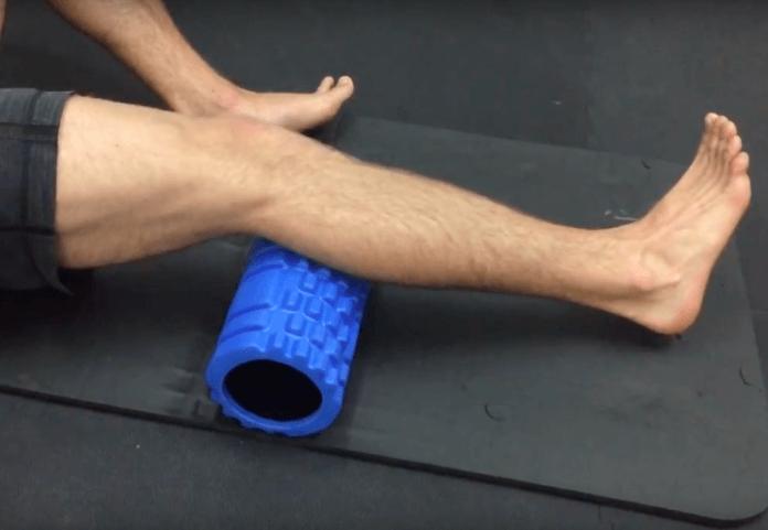Foam Roller Übungen Waden 4